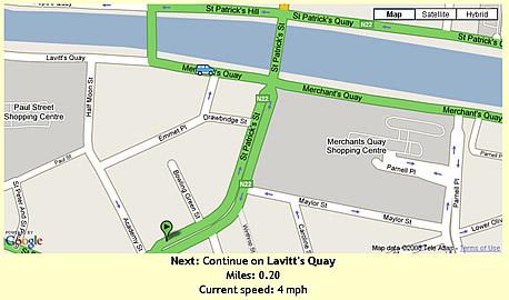 Google Maps Animated Directions - Fun!