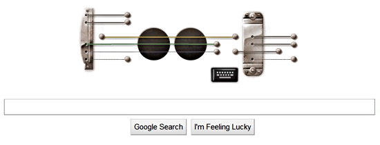 Google Pay Tribute To Les Paul