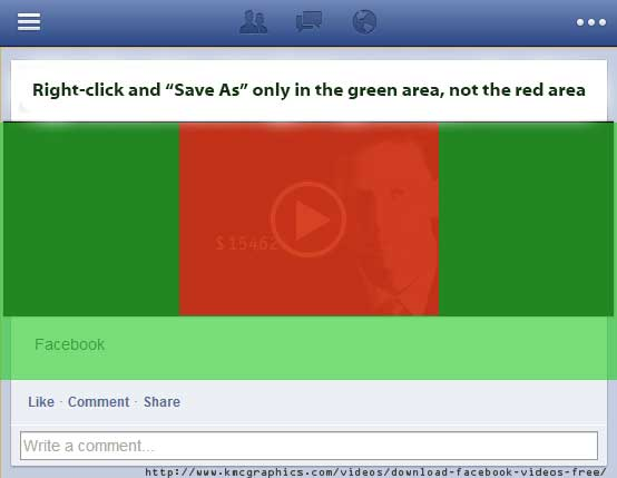Download Facebook Videos - How To - Free - Right Click Method